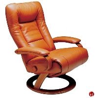 Picture of Lafer Ella Recliner, Leif Petersen NCLFEL Black Body Chair