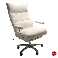 Picture of Lafer Executive Josh Recliner, Leif Petersen NCLFJO White Chair