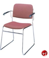 Picture of KFI 300 Series, 311 Guest Side Arm Stack Chair