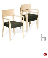 Picture of Aceray 341SU, Contemporary Guest Side Stack Reception Chair