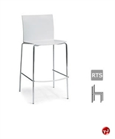 Picture of Aceray 536, Contemporary Cafeteria Dining Armless Stacking Barstool