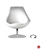Picture of Aceray 764, Contemporary Reception Lounge Swivel Chair