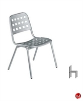 Picture of Aceray 157, Outdoor Aluminum Armless Stack Chair