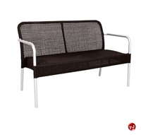 Picture of Aceray FILO, Outdoor Aluminum Wicker 2 Seat Loveseat Chair