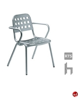 Picture of Aceray 357, Outdoor Aluminum Stacking Armchair