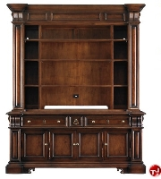Picture of Stanley Signature Secoli Display Media Console with Hutch