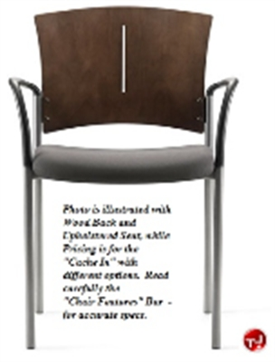 Picture of Source Cache In 763 Guest Reception Side Stacking Armless Chair