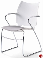 Picture of Source i-Flexx 411, Contemporary Guest Side Reception Stacking Arm Chair