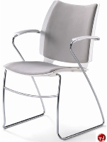 Picture of Source i-Flexx 412, Contemporary Guest Side Reception Stacking Arm Chair