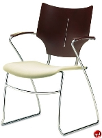 Picture of Source i-Flexx 576, Contemporary Guest Side Reception Sled Base Chair