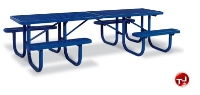 Picture of Outdoor 238 Series, 10' Extra Heavy Duty Steel ADA Shelter Picnic Table