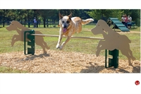 Picture of Bark Park Rover Jump Over, Outdoor Dog Exercise