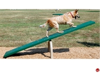 Picture of Bark Park Teeter Totter, Outdoor Dog Exercise