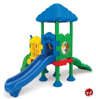 Picture of Play Today Discovery Center 2 With Roof Platform Structure, 2-5 Years