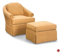 Picture of Fairfield 1480 Reception Lounge Swivel Sofa Club Chair with Ottoman