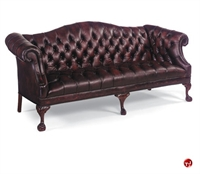 Picture of Fairfield 1832 Reception Lounge Lobby Traditional Tufted Three Seat Sofa