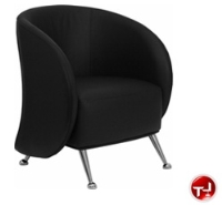 Picture of Reception Lounge Lobby Leather Chair