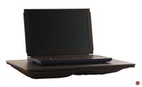 "Picture of Dacasso P1013 Black Leather Laptop Deskpad, 17"" x 14"""