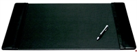 "Picture of Dacasso P1002 Black Leather Deskpad, 25"" x 17"""