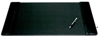 "Picture of Dacasso P1028 Black Leather Deskpad, 22"" x 14"""