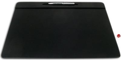 "Picture of Dacasso P1029 Conference Pad Black Leatherette Deskpad, 17"" x 14"""