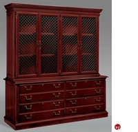 Picture of DMI Keswick 7990-26 7990-463 Traditional Veneer Lateral File Credenza with Mesh Door Storage