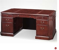 Picture of 13131 Traditional Veneer Executive Office Desk Workstation