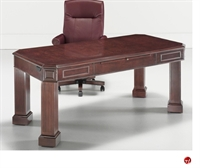 Picture of 13133 Traditional Veneer Executive Writing Table Desk
