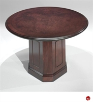 "Picture of 41444 Traditional Veneer 48"" Round Conference Table"