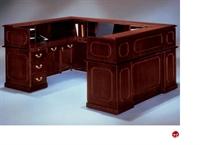 "Picture of 13294 Traditional Laminate 72"" U Shape Reception Desk Workstation"