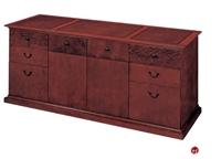 "Picture of 15411 Veneer 72"" Executive Storage Credenza"