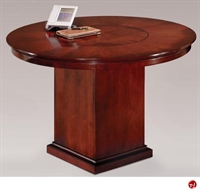 "Picture of 40710 Veneer 48"" Round Conference Table"
