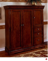 Picture of 15474 Veneer Computer Armoire Workstation