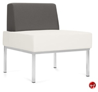 Picture of Global Ballara 9751NA Modular Contemporary Reception Lounge Lobby Armless Chair