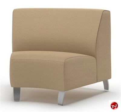 Picture of Integra Coffee House Reception Lounge Modular Inisde Curve Armless Chair