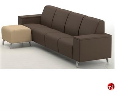 Integra Coffee House Reception Lounge Modular 4 Seat Sofa