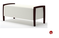 """Picture of Integra Coastal Contemporary Reception Lounge Lobby 42"""" Bench"""