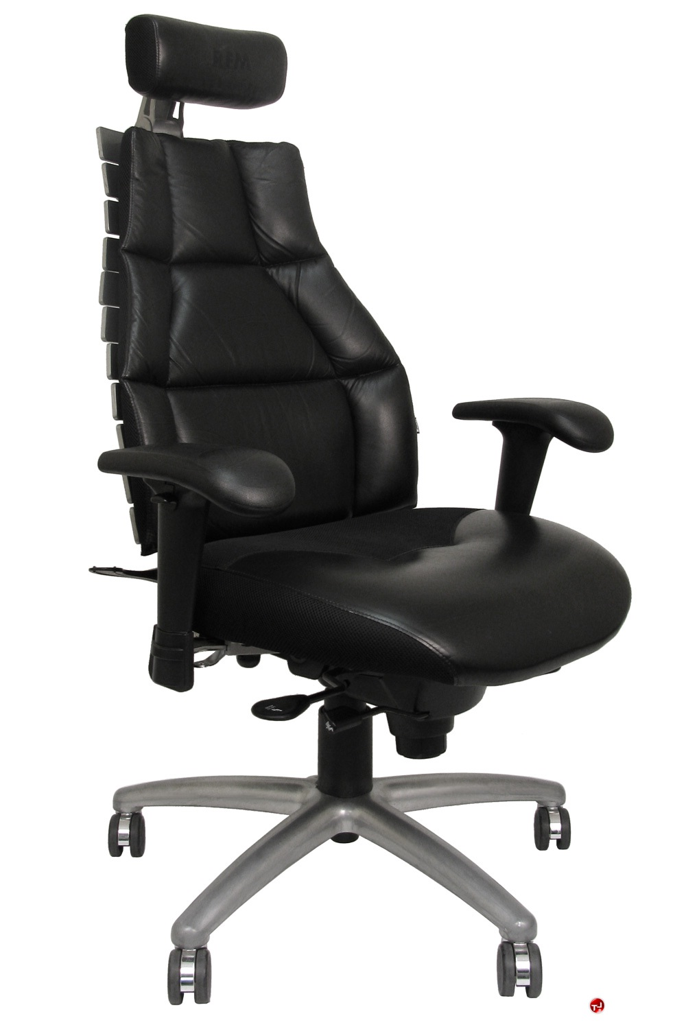 the office leader rfm verte 2200 high back executive office chair