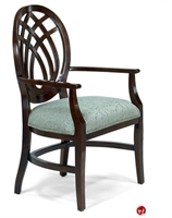 Picture of Flexsteel C2123 Cafeteria Dining Wood Arm Chair