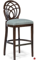 Picture of Flexsteel C2123 Cafeteria Dining Armless Wood Barstool Chair