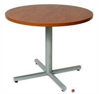 """Picture of 36"""" Round Cafeteria Dining Conference Table"""