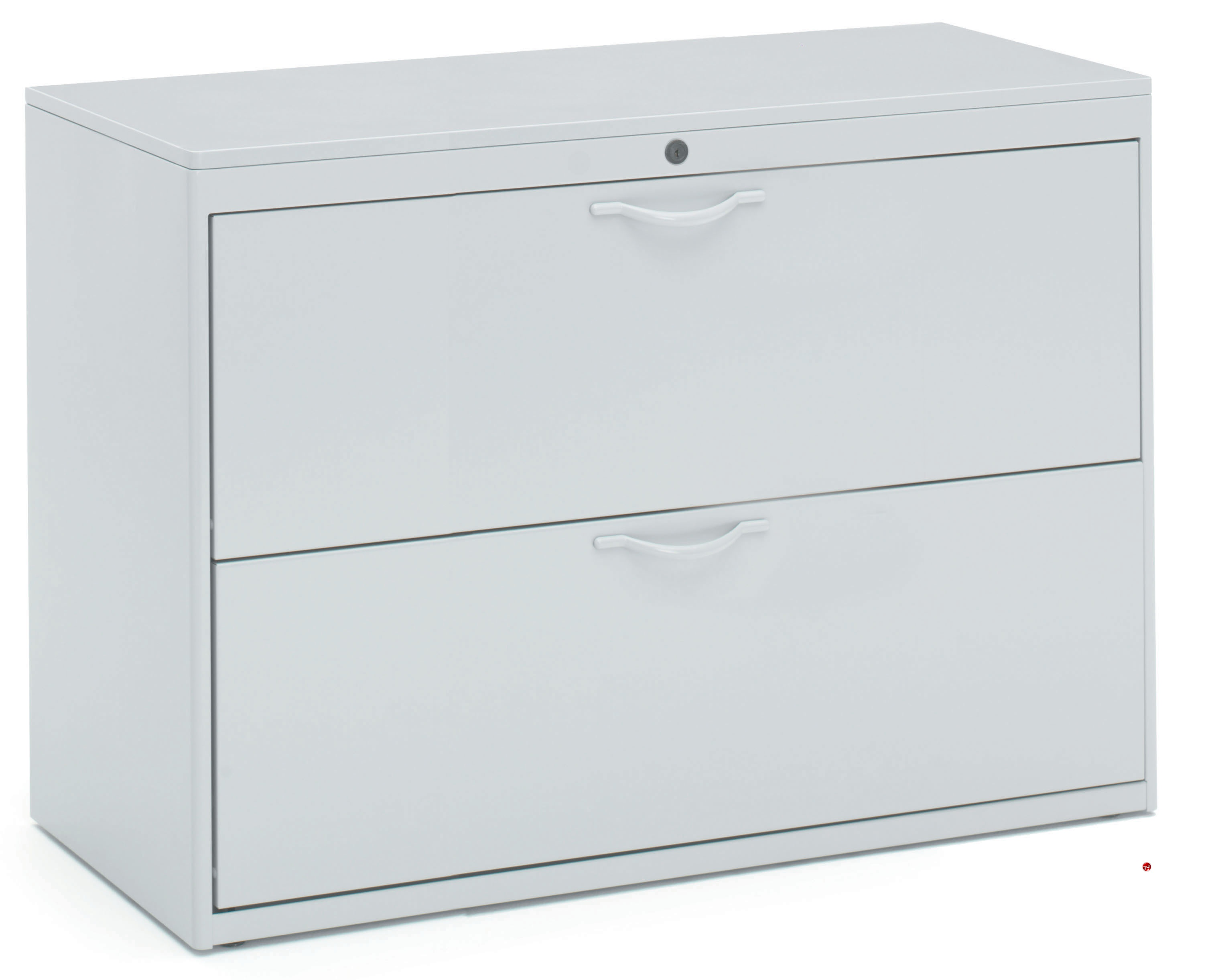 "42 Lateral File Cabinet 2 Drawer: The Office Leader. 2 Drawer 42""W Steel Lateral File Cabinet"