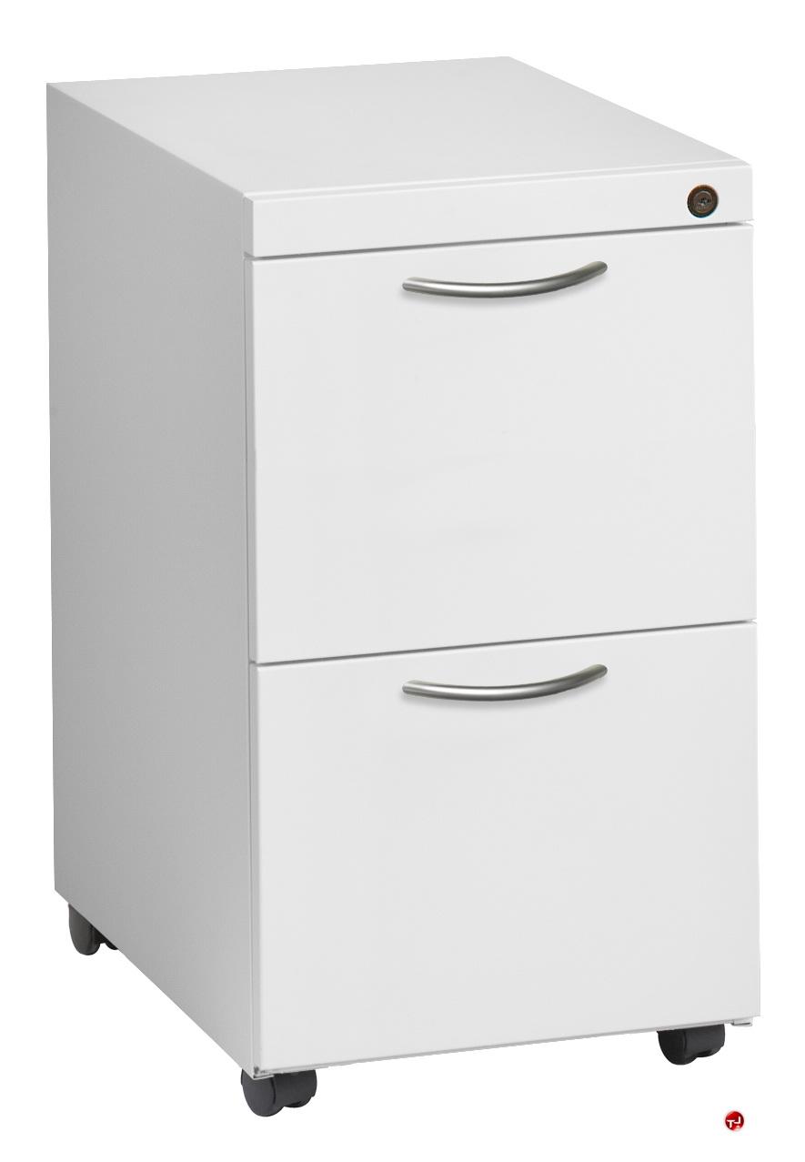 the office leader 2 drawer steel lateral mobile file cabinet 42 w. Black Bedroom Furniture Sets. Home Design Ideas