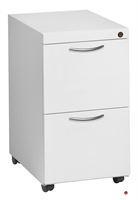 "Picture of 2 Drawer Steel Lateral Mobile File Cabinet, 42""W"