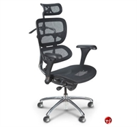 Picture of Balt Butterfly High Back Executive Mesh Office Chair, Headrest