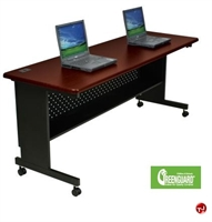 "Picture of 72"" x 30"" Mobile Folding Training Table"