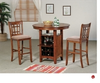 Picture of Crown Mark Miyagi Bar Table with Barstools
