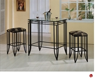 Picture of Crown Mark Matrix  Bar Table with Barstools