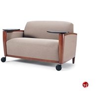 The Office Leader Reception Loung Lobby Tablet Arm Chairs
