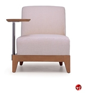 Picture of David Edward Elise Reception Lounge Lobby Armless Tablet Chair